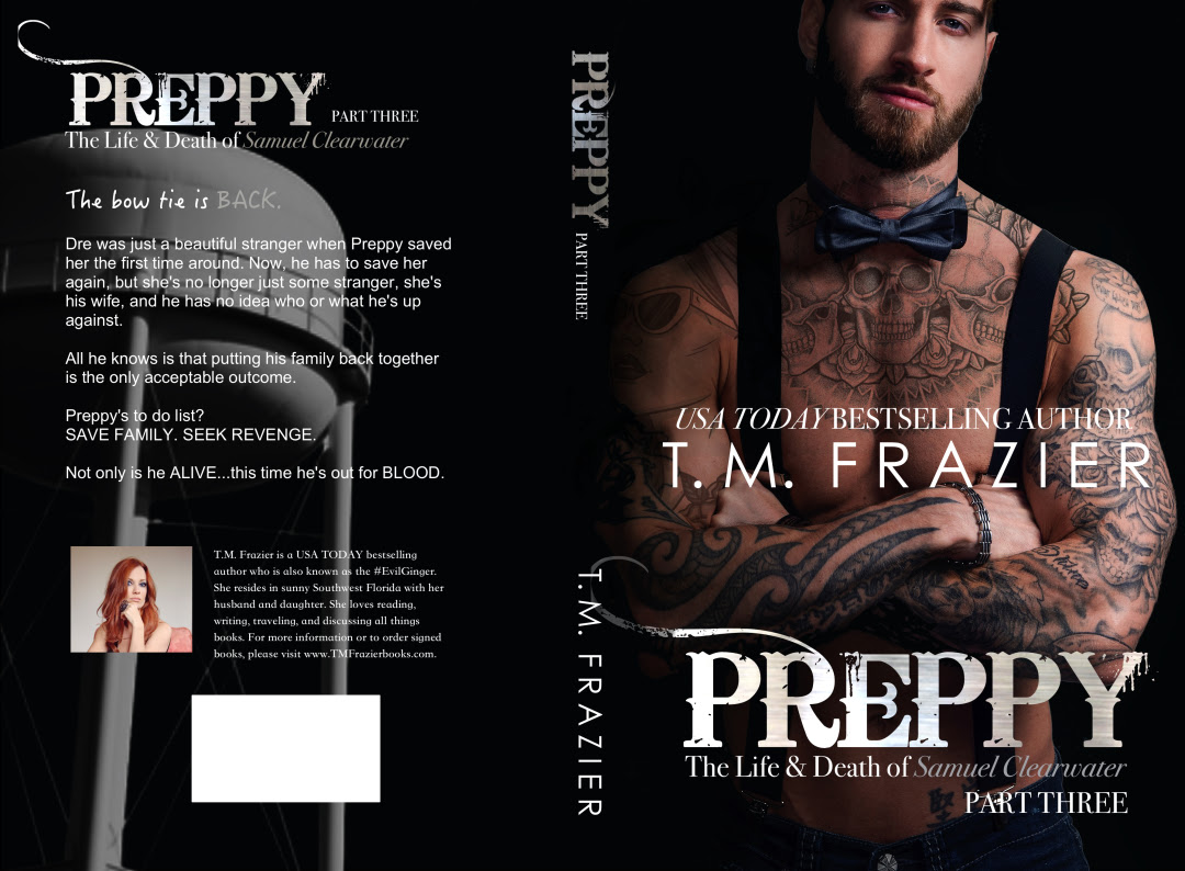 Cover Reveal Preppy The Life Death Of Samuel Clearwater Part 3 King 7 By TM Frazier Escapist Book Blog